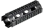 UTG PRO Model 4/15 Carbine Length Quad Rail