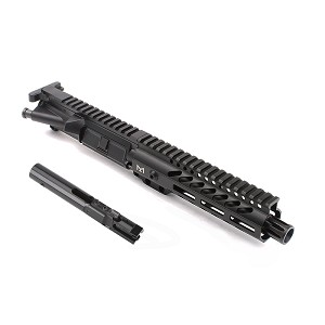 AR 9mm 7.5 inch Pistol with 7 inch Super Slim M-LOK Handguard and BCG Upper Build