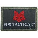 Fox Tactical Logo Patch