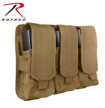 Rothco Triple M4 Mag Pouch