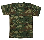 Rothco Men's Woodland Digital Camo T-shirt