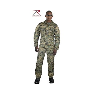 Woodland Digital Combat Uniform Pants